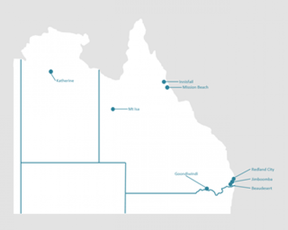 QLD/NT Coverage Map