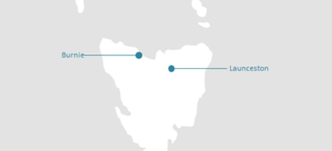 TAS Coverage Map